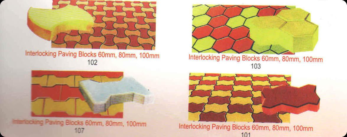 Zigzag Paving Blocks